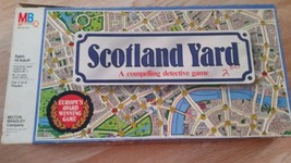 1985 Scotland Yard Vintage Board Game Milton Bradley - $18.69