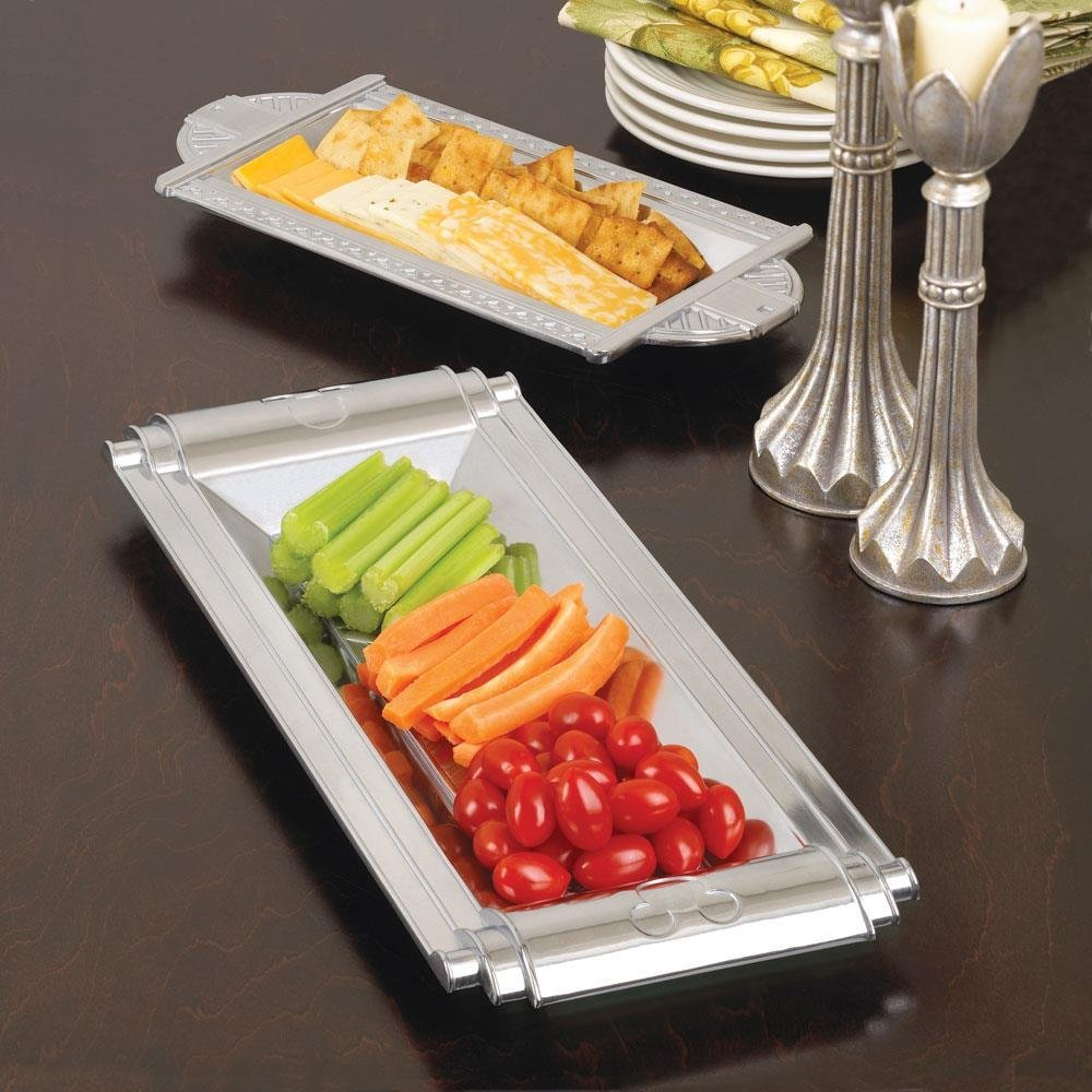 Decorative Storage Tray, Home Serving Table Tray Organizer