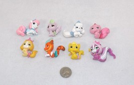 Lot of Disney Princess Palace Pets Mini Figures Pumpkin Bibiddy Sultan M... - $14.95