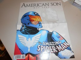 2009 Marvel Amazing Spider-Man American Son Mini Wall Poster  - $3.91