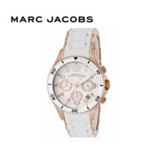 Marc Jacobs White Rock Chronograph Watch MBM2547 Free Standard Shipping - $151.00