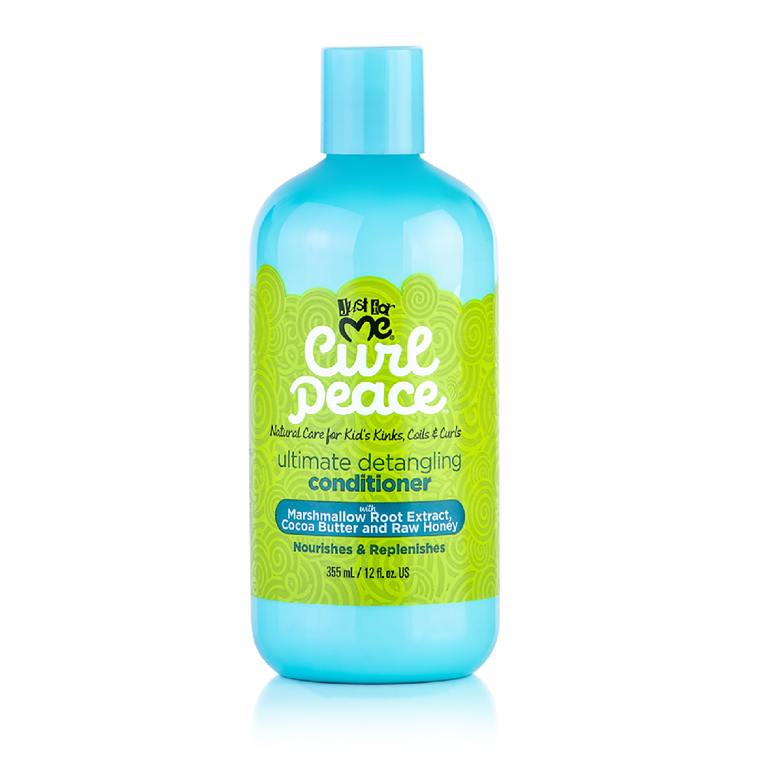 Just For Me Curl Peace Ultimate Detangling Conditioner Nourish & Replenish 12oz