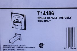 Delta Monitor(R) 14 Series Tub Trim Only - T14186 - $212.62