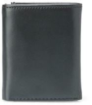 Tommy Hilfiger Men's Leather Credit Card Wallet Slim Trifold Black 31TL11X018 image 2