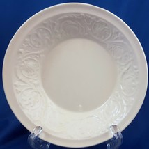 "Wedgwood Patrician Berry Dessert Bowl Cream Embossed Floral 5.5"" - $8.12"