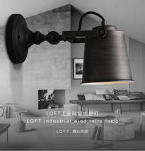 Vintage Adjustable Sconce E27 Light Loft Wall Lamp House Lighting Fixture - $72.39