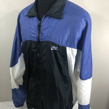 VTG Nike Jacket Windbreaker Air Flight Swoosh Jordan Agassi 90s Coat Large - $59.99