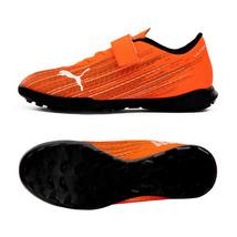 Puma Jr. Ultra 4.1 TT V Football Boots Youth Soccer Cleats Orange 10610501 - $69.99