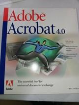 Adobe Acrobat 4.0 For Mac - $4.74