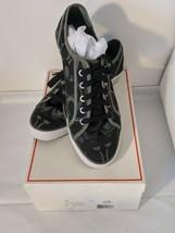 Coach Q998 A1447 Dee 24CM Optic C Black Grey Tennis Shoes SIZE 9 M NEW - $84.14