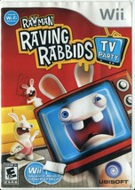 Rayman Raving Rabbids: TV Party (Nintendo Wii, 2008) - Complete - $3.95