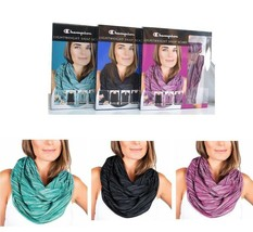 Champion Lightweight Snap Scarf Shrug Drape Choose Color Wear Different Ways NIP image 1