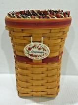 Longaberger 1998 May Series Snapdragon Basket combo  10863 - $37.40