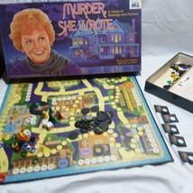 Murder She Wrote Strategy Board Game 1985 Warren 100 Based On  TV Show C... - $46.74