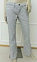 New Dittos Womens Low Rise Stretch Flare Denim Jeans Sz 28 6 Gray - $18.76