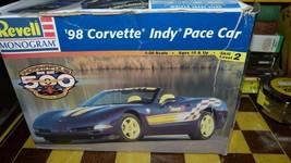 Revell 1998 Corvette Indy 500 Pace Car 1/25 Kit 264 Open Free Ship - $23.76