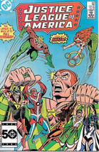 Justice League of America Comic Book #243, DC Comics 1985 NEAR MINT NEW ... - $5.94