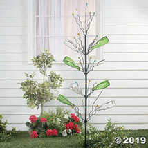 "Large Sturdy Metal Outdoor Bottle Tree Garden Stake 45""High - $35.61"