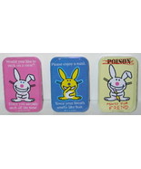It's Happy Bunny Breath Mints in Humorous Illustrated Metal Tins Set of ... - $11.64