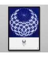Framed (Tokyo 2020 Paralympic Official Art Poster) Asao Tokolo - $272.25