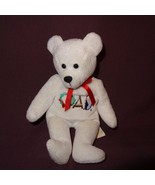 Holy Bears Miracle Teddy Bear 8 inches Plush Stuffed Animal 1999 A.D. White - $9.99