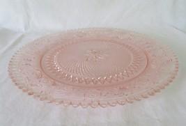 Duncan Miller, Pink Sandwich Torte Plate Platter, circa 1924-55 - $38.00