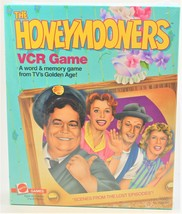 The Honeymooners Game By Mattel 1986 Vcr Game Factory Sealed - $18.80