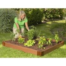 4 x 4 Foot Outdoor Raised Garden Bed Planter - $212.99