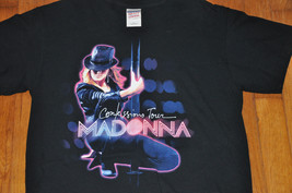 Madonna Confessions Tour black T-Shirt Men's Size Small s - $28.99
