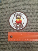 Webelos Overnight Sew or Iron on Patch NEW BSA Cub Scouts - $9.80