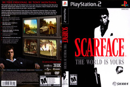 Scarface: The World is Yours CUSTOM PS2 CASE (NO GAME!!!!!!!!) - $5.64