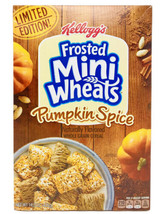 Kelloggs Frosted Mini Wheats Limited Edition Pumpkin Spice Cereal 14.3oz xp 6/21 - $7.00