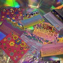 Vintage Lisa Frank 8Piece Envelope Lot Peekaboo Violet Racoons Ice Cream Dogs  image 5