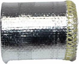 "Heat Sheath Aluminized Sleeving Heat Shield Protection Barrier 1"" x 36"" (3ft) image 2"