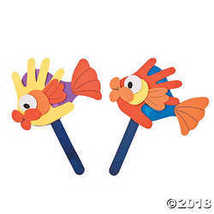 Handprint Fish Puppet Craft Kit - $10.24