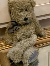 "Boyds Bear Rag Doll Floppy & Jointed Black Plaid Bow 1364 18"" 1995 Euc - $23.36"