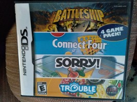 Nintendo DS Battleship/Connect Four/Sorry!/Trouble image 1