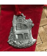 Estate MGIC 2007 Limited Edition of 8500 A. Schumann Pewter Victorian House - $12.19