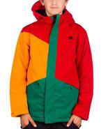 DC Amo Jacket Snowboard Ski Youth Boys Kids Waterproof Insulated Coat Mu... - $92.76