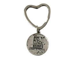 Army Strong Heart Keychain - $10.00