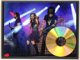 The Band Perry 24Kt Gold CD Disc Display Award Quality - Limited Edition - $56.95