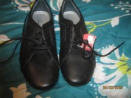 PROPET PUFFIN WALKING SHOE BLACK STYLE #W07106 size 9M NEW - $18.32