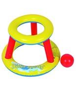 "RhinoMaster Play NT6027 Mini Pool Basketball, Yellow, red, 29"" L x 29"" W... - $15.00"