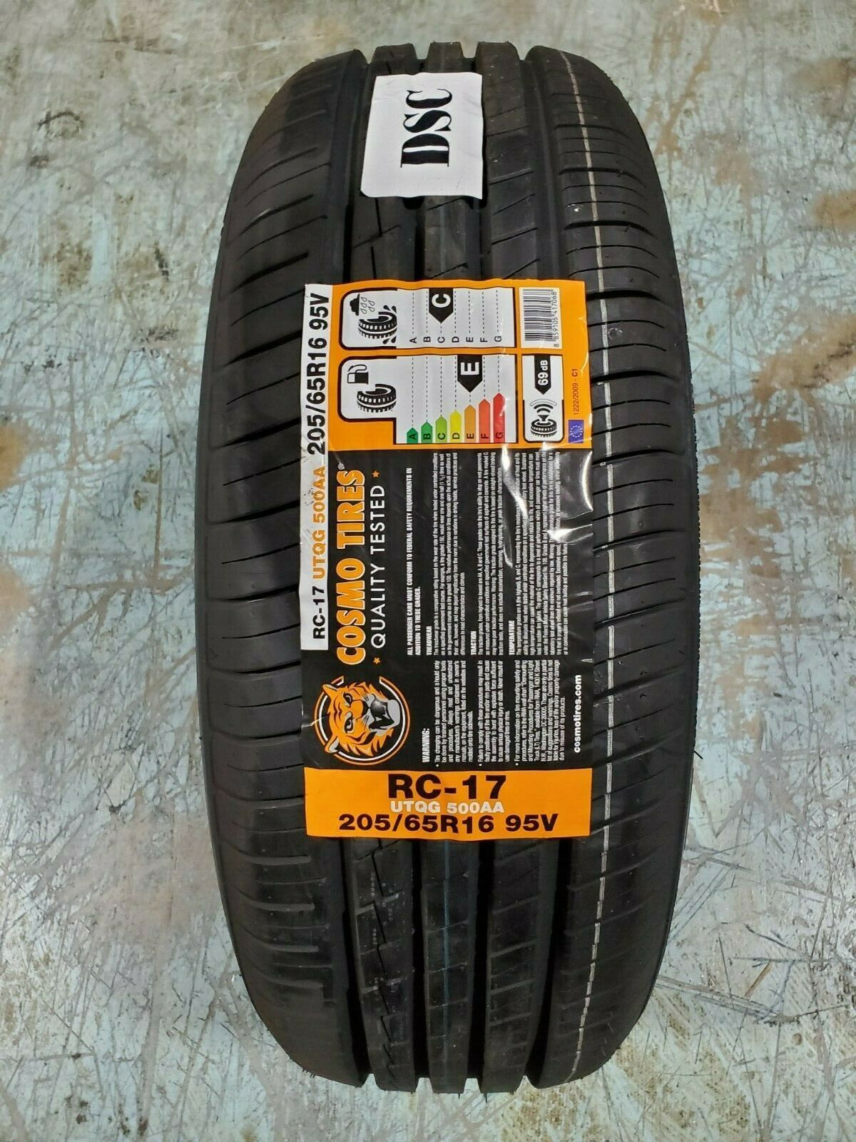 Primary image for 205/65R16 Cosmo RC-17 95V M+S (SET OF 4)
