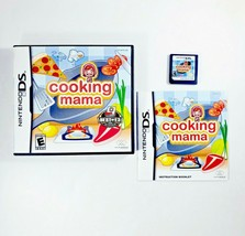 Cooking Mama (Nintendo DS 3DS, 2006) Complete with Manual - CIB - Free S... - $12.30