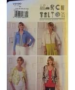 Vogue V9190 Miss Shrug Size F5 16-24 Uncut FF 2016 Marcy Tilton Design P... - $26.43