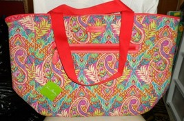 Vera Bradley trimmed reversible tote in Paisley in Paradise - $45.00