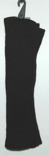 Unbranded Knit Arm Warmers Color Black One Size 100 Percent Acrylic