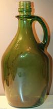 """80 Fluid Ounces 2.27 Liter Empty Large Green Glass Liquor Bottle 12.5"""" Tall - $44.45"""