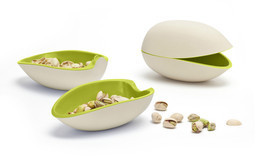 Home Original Gifts Bowls Funky Design Big Pistachio Serving Oliv Plates... - $29.20